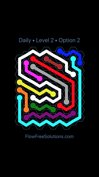 Solution and Answer to the Puzzle for Hexes Date Sunday, August 5, 2018 Level 2