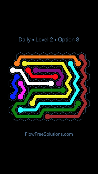 Solution and Answer to the Puzzle for Hexes Date Friday, September 6, 2019 Level 2
