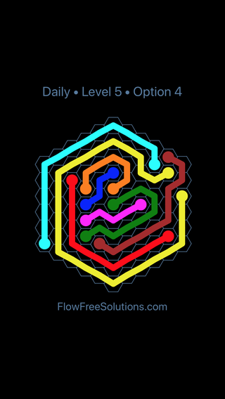 Solution and Answer to the Puzzle for Hexes Date Wednesday, February 14, 2018 Level 5