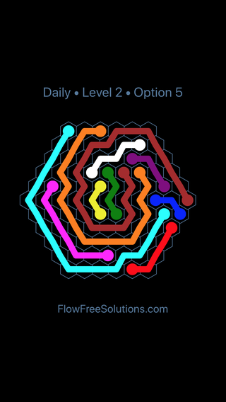Solution and Answer to the Puzzle for Hexes Date Friday, March 15, 2019 Level 2