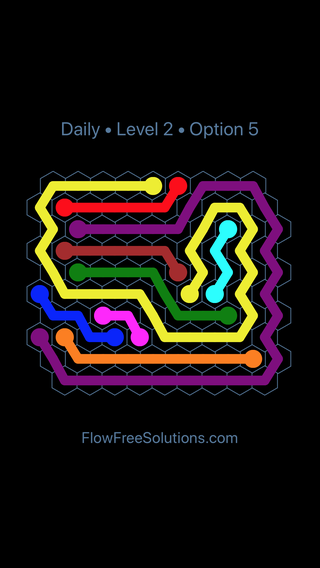 Solution and Answer to the Puzzle for Hexes Date Monday, September 10, 2018 Level 2