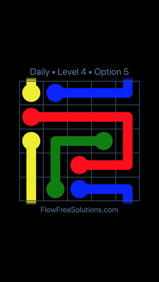 Solution and Answer to the Puzzle for Warps Date Monday, January 8, 2018 Level 4