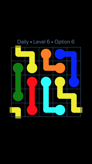 Solution and Answer to the Puzzle for Warps Date Monday, January 8, 2018 Level 6
