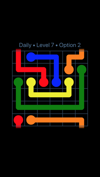 Solution and Answer to the Puzzle for Warps Date Monday, January 8, 2018 Level 7