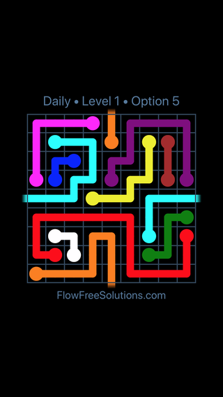 Solution and Answer to the Puzzle for Warps Date Wednesday, April 11, 2018 Level 1