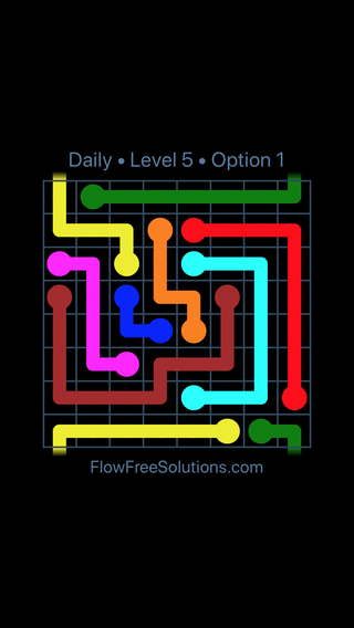 Solution and Answer to the Puzzle for Warps Date Wednesday, April 11, 2018 Level 5