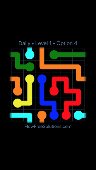Solution and Answer to the Puzzle for Warps Date Thursday, April 12, 2018 Level 1