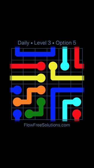 Solution and Answer to the Puzzle for Warps Date Thursday, April 12, 2018 Level 3