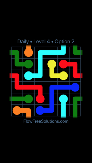 Solution and Answer to the Puzzle for Warps Date Thursday, March 14, 2019 Level 4