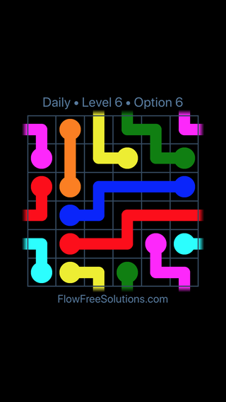 Solution and Answer to the Puzzle for Warps Date Thursday, April 8, 2021 Level 6