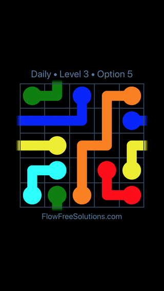 Solution and Answer to the Puzzle for Warps Date Friday, April 13, 2018 Level 3