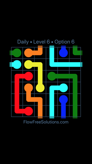 Solution and Answer to the Puzzle for Warps Date Friday, April 13, 2018 Level 6