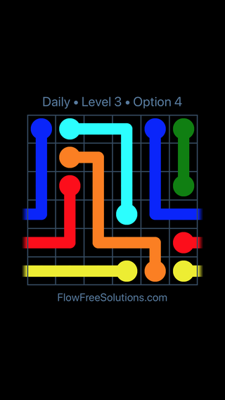 Solution and Answer to the Puzzle for Warps Date Saturday, April 14, 2018 Level 3