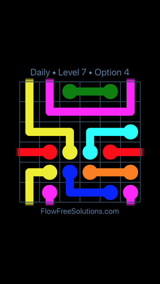 Solution and Answer to the Puzzle for Warps Date Saturday, April 14, 2018 Level 7