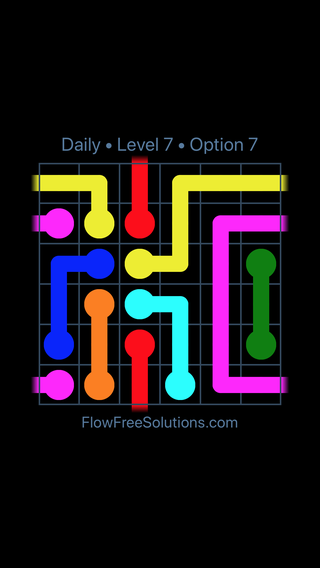 Solution and Answer to the Puzzle for Warps Date Saturday, July 7, 2018 Level 7