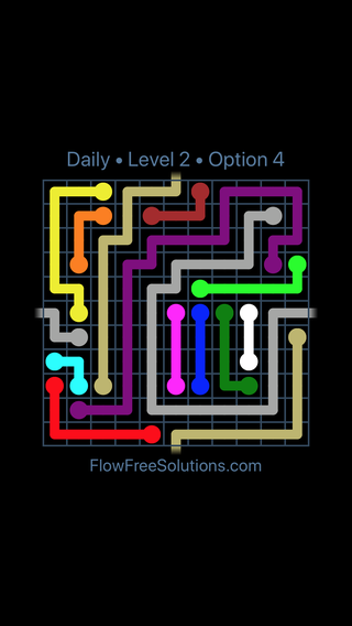 Solution and Answer to the Puzzle for Warps Date Sunday, July 8, 2018 Level 2