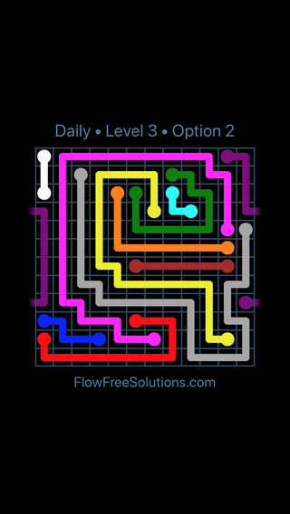 Solution and Answer to the Puzzle for Warps Date Sunday, July 8, 2018 Level 3