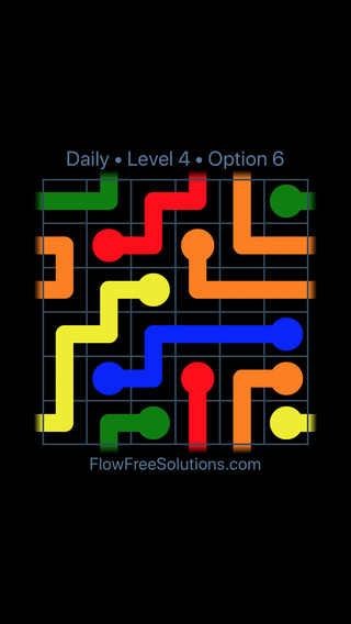 Solution and Answer to the Puzzle for Warps Date Sunday, April 15, 2018 Level 4