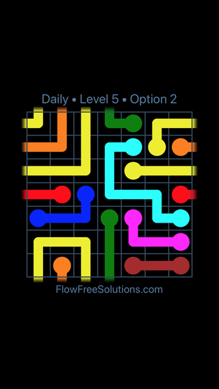 Solution and Answer to the Puzzle for Warps Date Sunday, July 8, 2018 Level 5