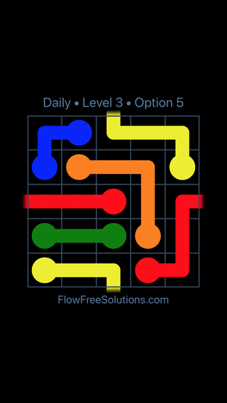 Solution and Answer to the Puzzle for Warps Date Monday, April 16, 2018 Level 3