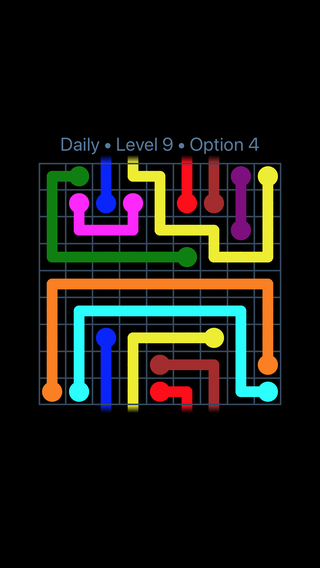 Solution and Answer to the Puzzle for Warps Date Monday, April 16, 2018 Level 9