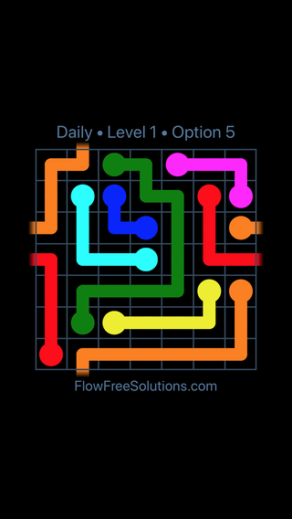 Solution and Answer to the Puzzle for Warps Date Tuesday, July 10, 2018 Level 1