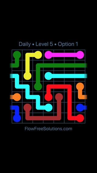 Solution and Answer to the Puzzle for Warps Date Tuesday, April 17, 2018 Level 5