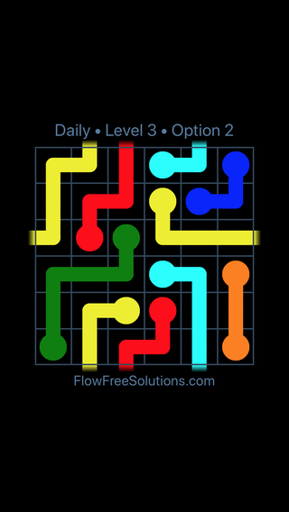 Solution and Answer to the Puzzle for Warps Date Thursday, July 12, 2018 Level 3