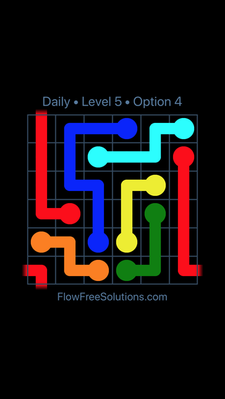 Solution and Answer to the Puzzle for Warps Date Friday, July 13, 2018 Level 5