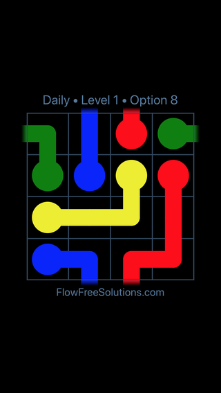 Solution and Answer to the Puzzle for Warps Date Tuesday, January 9, 2018 Level 1