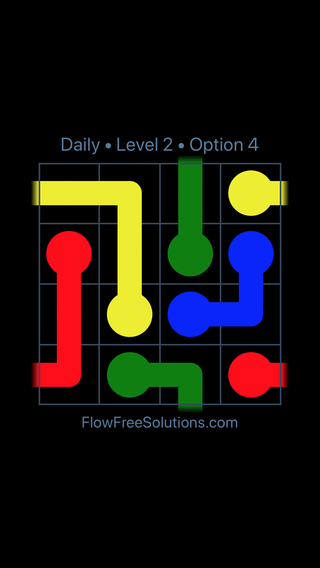 Solution and Answer to the Puzzle for Warps Date Tuesday, January 9, 2018 Level 2