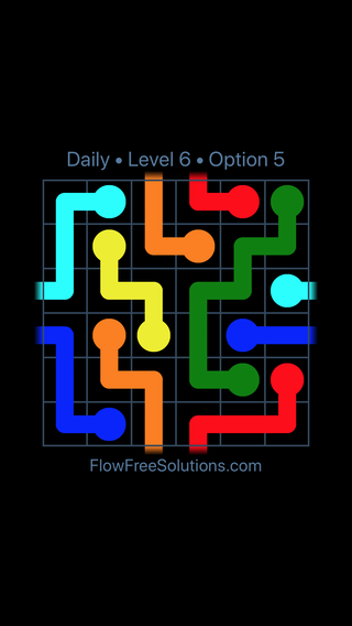 Solution and Answer to the Puzzle for Warps Date Tuesday, January 9, 2018 Level 6