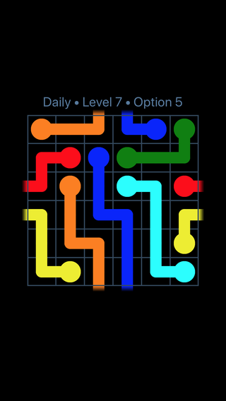 Solution and Answer to the Puzzle for Warps Date Tuesday, January 9, 2018 Level 7