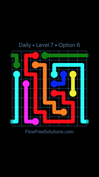 Solution and Answer to the Puzzle for Warps Date Saturday, October 6, 2018 Level 7