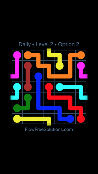 Solution and Answer to the Puzzle for Warps Date Sunday, October 7, 2018 Level 2