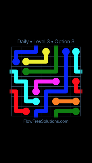 Solution and Answer to the Puzzle for Warps Date Sunday, October 7, 2018 Level 3