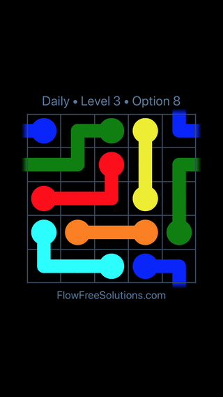 Solution and Answer to the Puzzle for Warps Date Wednesday, September 11, 2019 Level 3