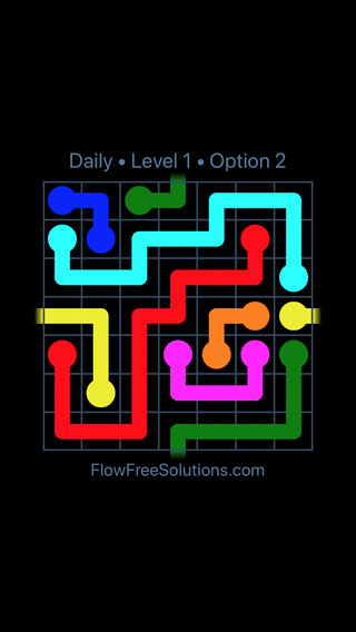 Solution and Answer to the Puzzle for Warps Date Thursday, June 20, 2019 Level 1