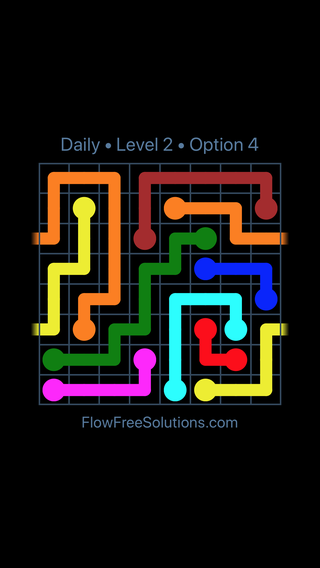 Solution and Answer to the Puzzle for Warps Date Thursday, September 12, 2019 Level 2