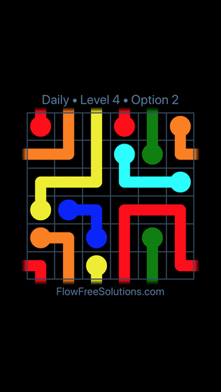 Solution and Answer to the Puzzle for Warps Date Thursday, October 11, 2018 Level 4