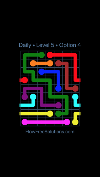 Solution and Answer to the Puzzle for Warps Date Friday, October 12, 2018 Level 5