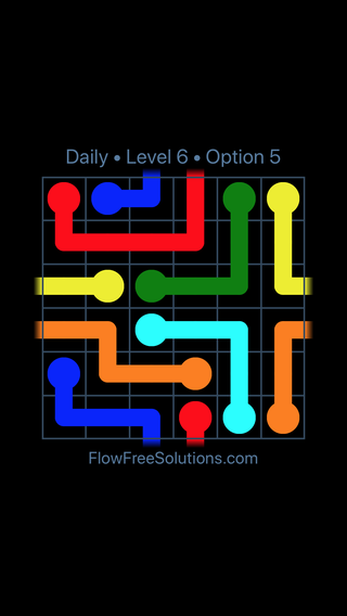 Solution and Answer to the Puzzle for Warps Date Friday, October 12, 2018 Level 6