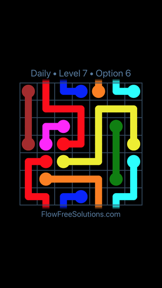 Solution and Answer to the Puzzle for Warps Date Friday, October 12, 2018 Level 7