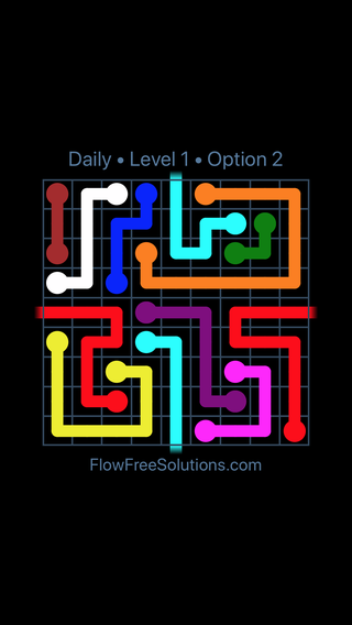 Solution and Answer to the Puzzle for Warps Date Monday, June 24, 2019 Level 1