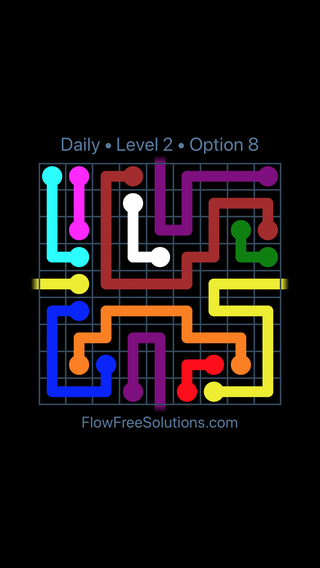 Solution and Answer to the Puzzle for Warps Date Monday, November 13, 2017 Level 2