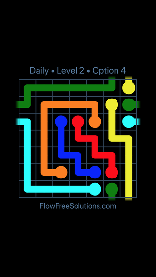 Solution and Answer to the Puzzle for Warps Date Wednesday, January 10, 2018 Level 2