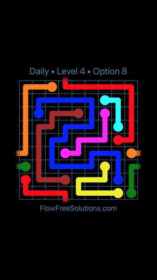Solution and Answer to the Puzzle for Warps Date Wednesday, October 14, 2020 Level 4