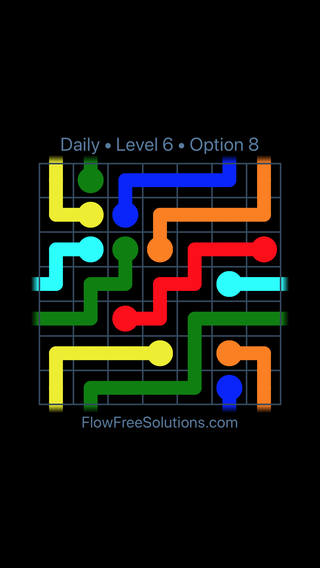 Solution and Answer to the Puzzle for Warps Date Wednesday, October 14, 2020 Level 6