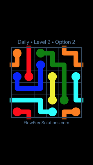 Solution and Answer to the Puzzle for Warps Date Thursday, February 8, 2018 Level 2
