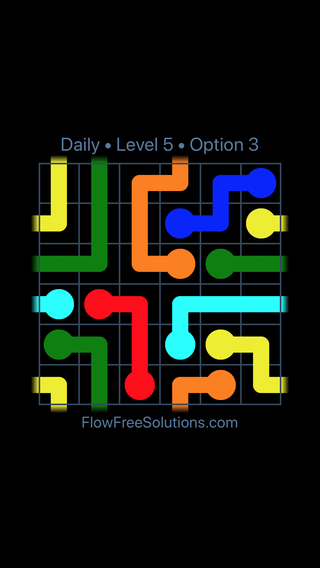 Solution and Answer to the Puzzle for Warps Date Thursday, February 8, 2018 Level 5